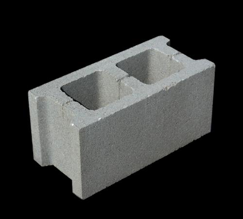 Блок бетонный пустотелый