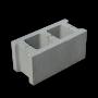 Блок бетонный пустотный стеновой