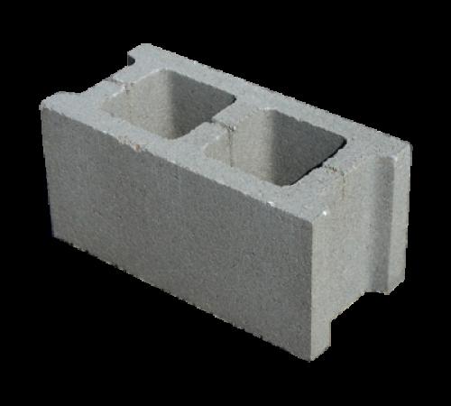 Блок керамзитобетонный пустотелый стеновой